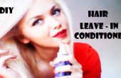 DIY: Haar LEAVE-IN CONDITIONER
