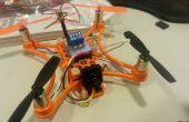 Klein en relatief goedkope FPV quadcopter