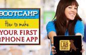 Gids voor het maken en publiceren van uw eerste iPhone app