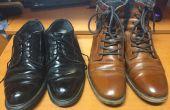 Hoe te schitteren schoenen