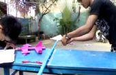Blaaspijp - papier vliegtuig Launcher