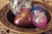 Ornament DIY glitter