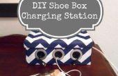 Hoe te DIY schoenendoos laadstation voor uw apparaten