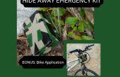 Verbergen van weg Emergency Kit; Mountain Bike toepassing opgenomen