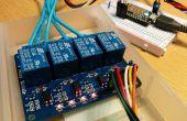 Spark Core gecontroleerd relay w / web-panel