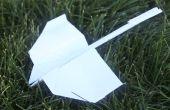 Mooiste papier vliegtuig