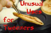 8 ongebruikelijke toepassingen voor pincet