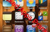 """IPhone """"Gebroken Apps"""" Prank"""