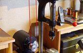 Renovatie van een oude boor press