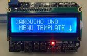 Arduino Uno menusjabloon