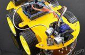 Installatie van Bluetooth Smart multi-functionele auto voor Arduino gecontroleerd door mobiele telefoon