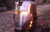 Ironman \ oorlogsmachine houtkachel