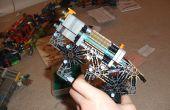 Knex pistool, met een nieuw! Firing mechanisme, een Hammer