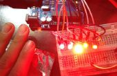 Capacitieve Sensor met staafdiagram