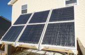 Hydronic zonne thermische systeem voor de verwarming van de ruimte van de Winter