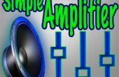 Hoe maak je een Mini eenvoudig Audio-versterker