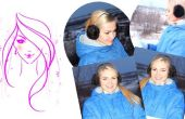 HOW TO MAKE HARIGE oorwarmers
