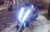 DIY 2-Wheeler/fiets LED DRL