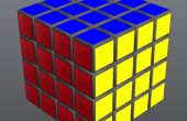 De 4 bij 4 rubiks kubus, gemakkelijk los!