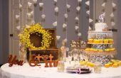 Centerpieces bruiloft