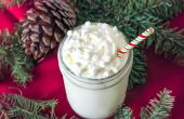 Witte Kerstmis Frappuccino recept
