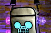 Aangepaste Disney World tas featuring gemaakt met Magic technologie