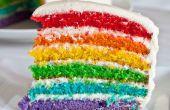 Hoe maak je de beste Cake van de regenboog!