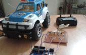 Controle van een RC auto met behulp van de computer