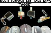 4 Allures te halen multi oppervlak LED Throwies - Taggies
