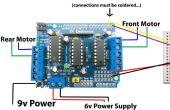 Een ander Arduino afstandsbediening auto bestuurd door Android telefoon via Bluetooth-Module