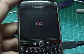 BlackBerry 8900 curve gekruist batterij pictogram fix