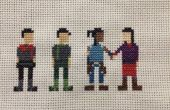 Legende van Korra Cross Stitch: Team Avatar