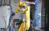 Het proces van de wederopbouw van de Robot van het 168-point