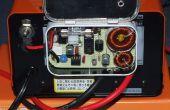 Desulfator voor 12V auto accu's, in een Altoids Tin