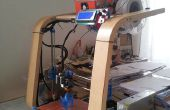Van een Ikea voetbank aan (Poang) 3D-printer!