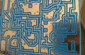 DIY PCB met behulp van vloeibare fotoresist