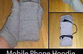 Mobiele telefoon Hoodie en Texting handschoenen
