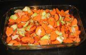 Geroosterde zoete aardappelen