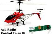 Radio toevoegen aan een Helicopter van Syma S107 IR (of een ander IR-apparaat)