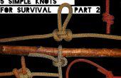 Snelle vaardigheden #2: 5 eenvoudige knopen voor overleving deel 2