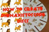 Hoe maak je fenakistiscoop schijven