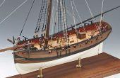 Hoe maak je een houten scheepsmodel Kit?