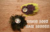 Comic Book haar broche