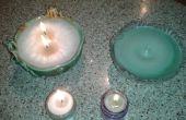 Gemakkelijk kaarsen w / pop tabblad wicks