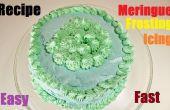 Hoe maak je Meringue Frosting Icing