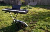 Zonne-energie aangedreven Piano klavier