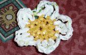 Bloemen van plastic zakken. 3 ideeën / Flores con Bolsas. 3 ideeën
