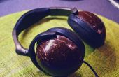 Kokosnoot hoofdtelefoon