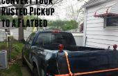 Uw pick-up Truck omzetten in een Flatbed