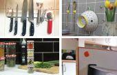17 eenvoudige manieren om het organiseren van uw keuken